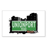 Unionport Rd, Bronx, NYC Rectangle Decal
