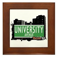 University Av, Bronx, NYC Framed Tile