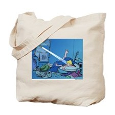 Crack of Noon Tote Bag