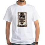 Steampunk White T-Shirt