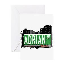 Adrian Av, Bronx, NYC Greeting Card