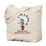 Kachina Nakiachop Tote Bag