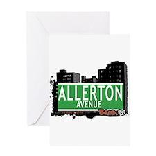 Allerton Av, Bronx, NYC Greeting Card
