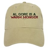 Al Gore is a Warm Monger Baseball Cap