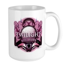 Twilight New Moon Crystal Pink Lion Hearts Crest L