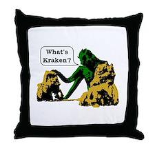 Cute Clash of the titans Throw Pillow