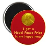Nobel Happy Meal Magnet