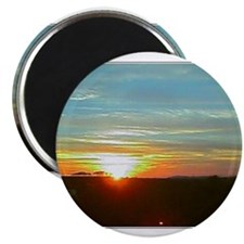 Blue Hills Sunset Magnet