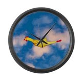 Rubber Chicken Large Wall Clock