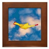 Rubber Chicken Framed Tile