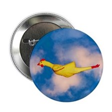 "Rubber Chicken 2.25"" Button (100 pack)"