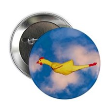 "Rubber Chicken 2.25"" Button"