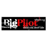 Big Pilot Bumper Bumper Stickers