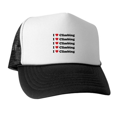 I Love Climbing (A lot) Trucker Hat