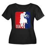 Tea Party Paul Revere Logo Women's Plus Size Scoop