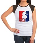 Tea Party Paul Revere Logo Women's Cap Sleeve T-Sh