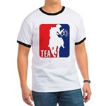 Tea Party Paul Revere Logo Ringer T