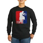 Tea Party Paul Revere Logo Long Sleeve Dark T-Shir