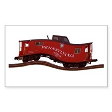 Pennsylvania Caboose Rectangle Decal