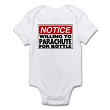 Will Parachute for Bottle Infant Bodysuit