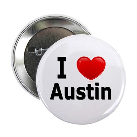 "I Love Austin 2.25"" Button (10 pack)"