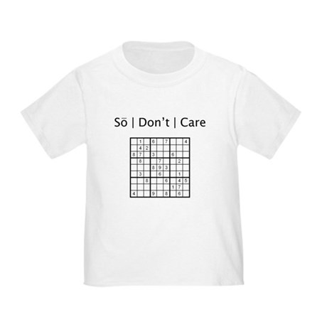 Sudoku Toddler T-Shirt