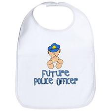 Future Police Baby (tx) Bib