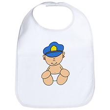 Future Police Baby Bib
