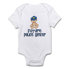 Future Police Baby (tx) Infant Bodysuit