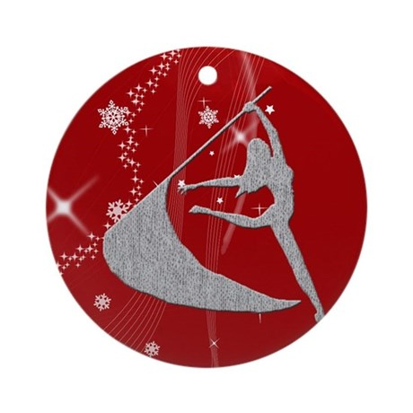 Colorguard Holiday Ornament (Round)