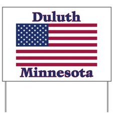 Duluth US Flag Yard Sign