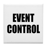 Event Control Tile Coaster