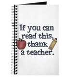 Thank a Teacher Journal