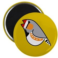 Fun Zebra Finch Magnet