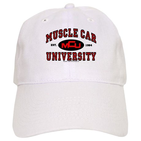 Muscle Car University Cap