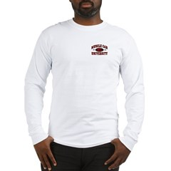 Muscle Car University Long Sleeve T-Shirt