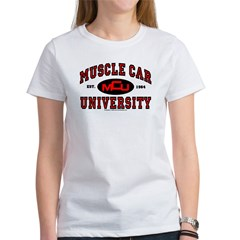 Muscle Car University Women's T-Shirt