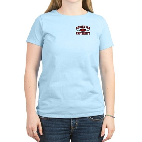 Muscle Car University Women's Light T-Shirt