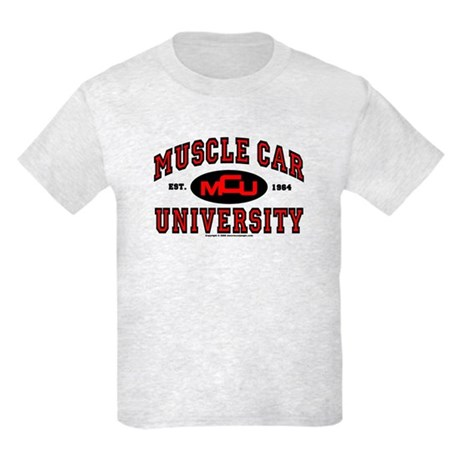 Muscle Car University Kids Light T-Shirt