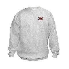 Muscle Car University Kids Sweatshirt