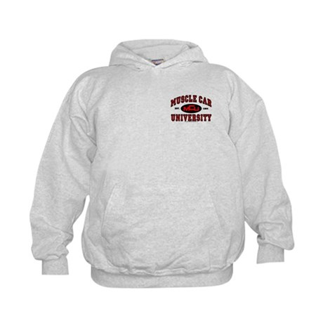 Muscle Car University Kids Hoodie