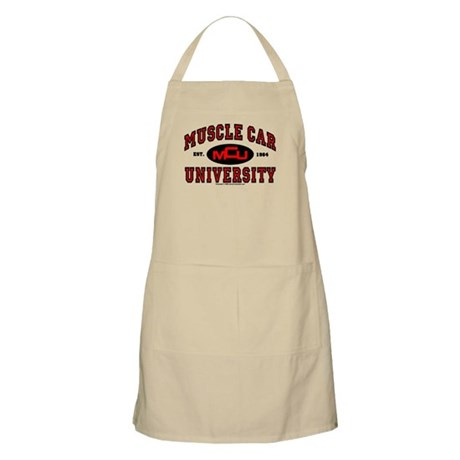 Muscle Car University BBQ Apron