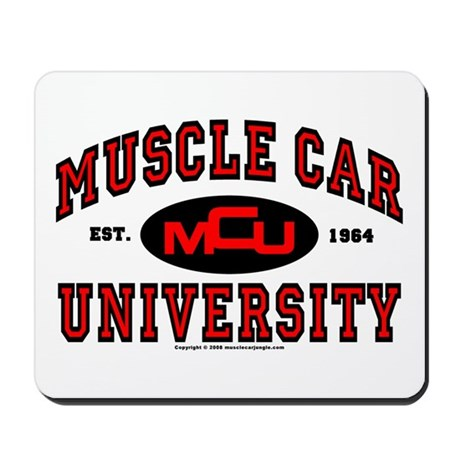 Muscle Car University Mousepad
