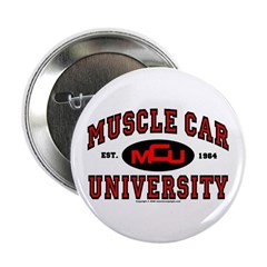 "Muscle Car University 2.25"" Button (100 pack)"