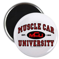 Muscle Car University Magnet