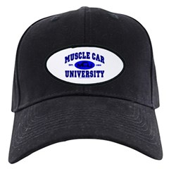 Muscle Car U Black Cap