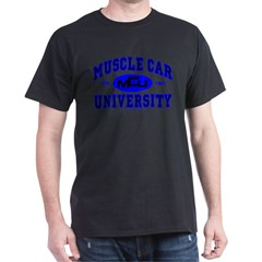 Muscle Car U Black T-Shirt