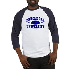 Muscle Car U Baseball Jersey