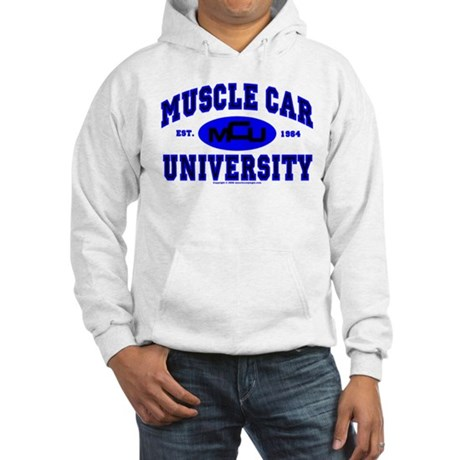 Muscle Car U Hooded Sweatshirt