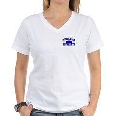 Muscle Car U Women's V-Neck T-Shirt